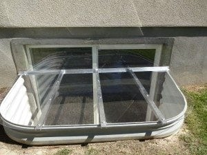 Window Well Clear Cover