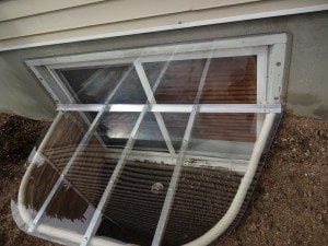 clear cover for window well