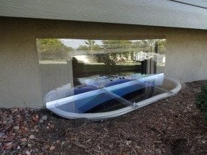 clear cover for window wells