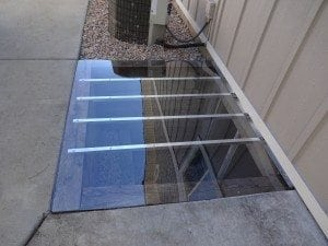 custom fit window well cover