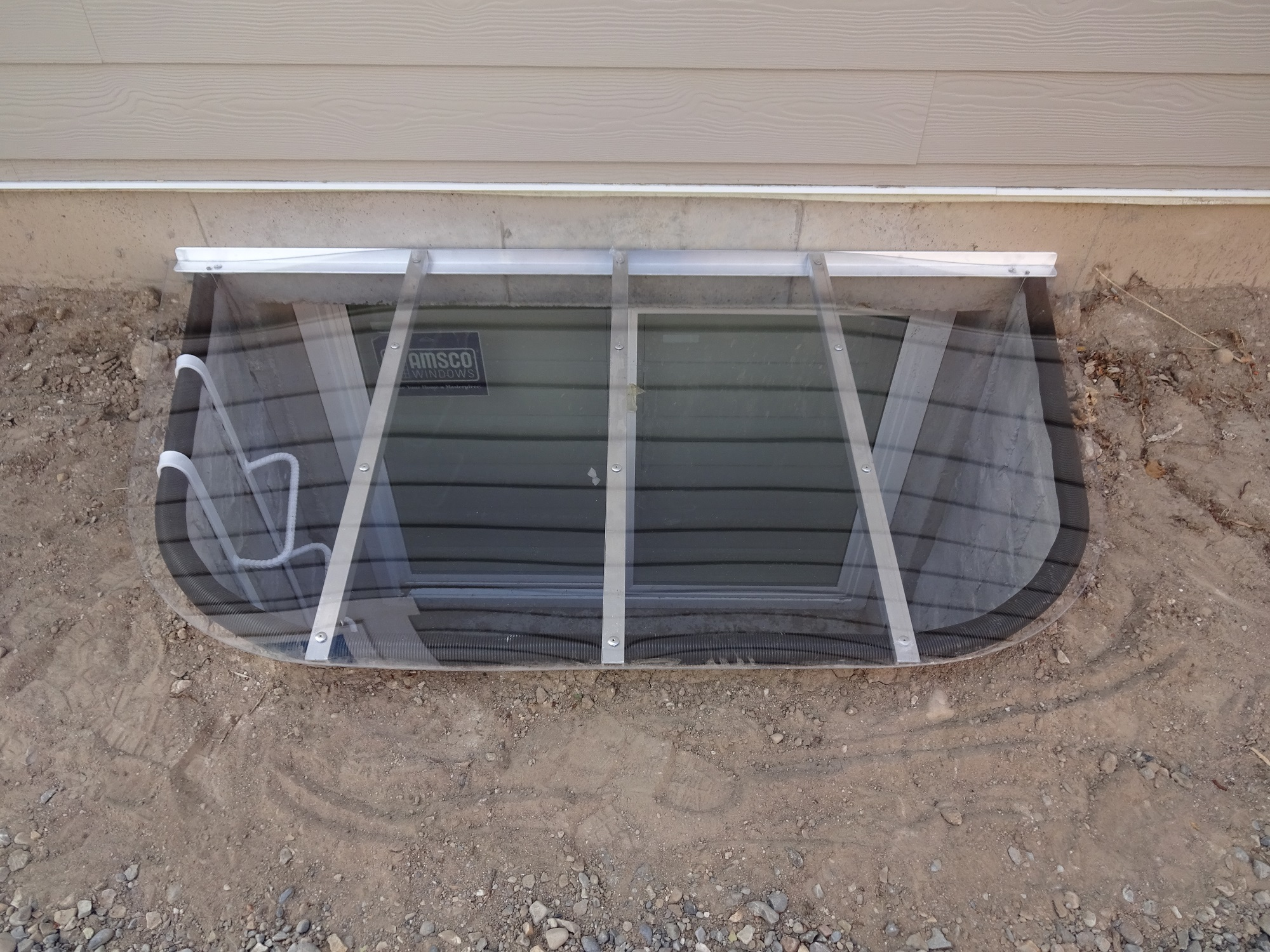 Clear Window Well Covers