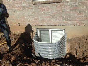 Window Well drain system