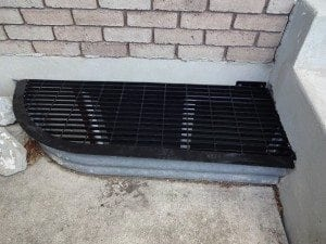 custom window well grate