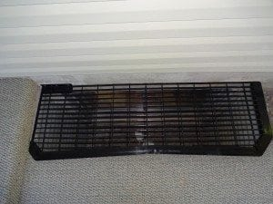 custom window well grate install