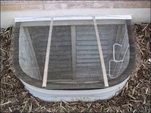 We Provide Window Well Covers in Salt Lake City Utah
